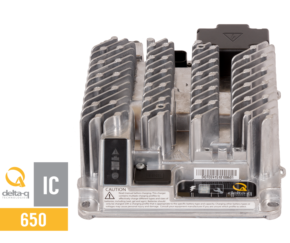 Ic650 Industrial Battery Charger Delta Q Technologies