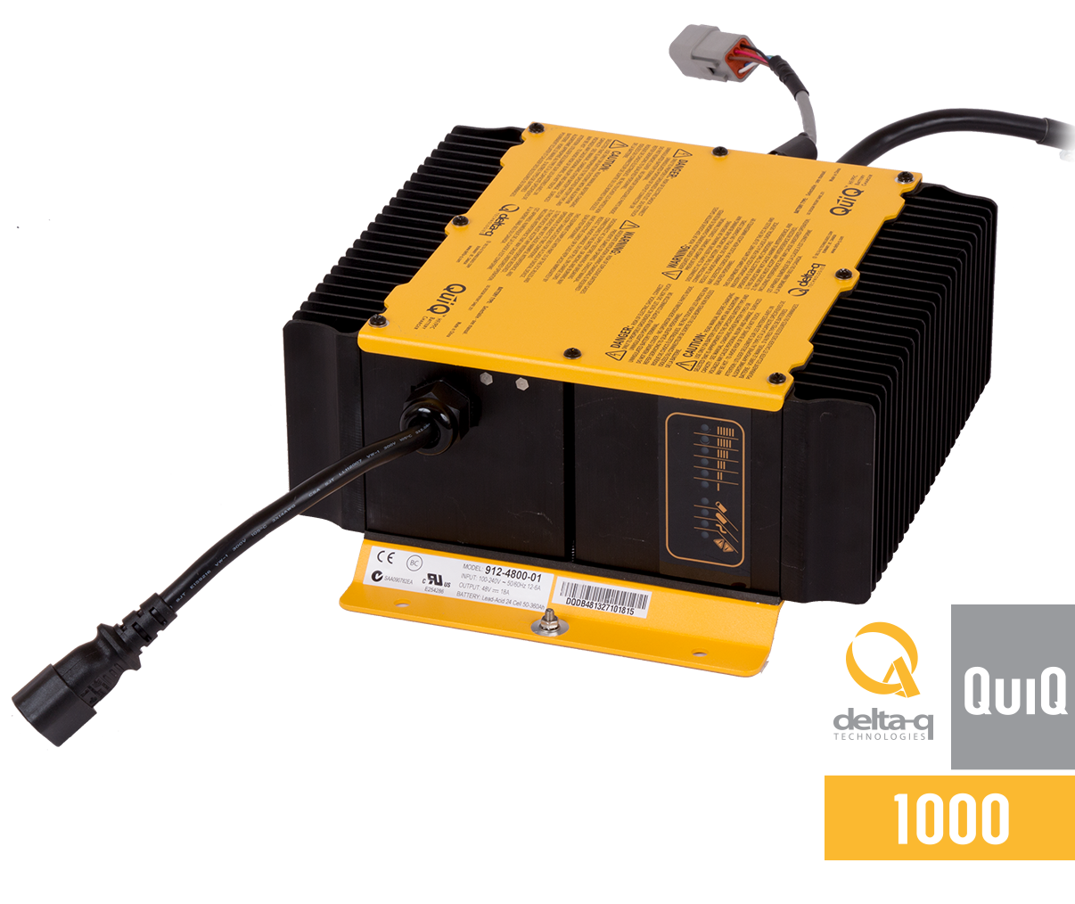 Quiq 1000 Industrial Battery Charger on lead acid battery charger